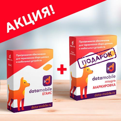 DataMobile ЕГАИС + Маркировка в подарок